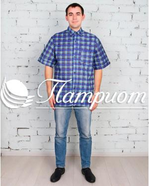 Рубашка мужская бязь короткий рукав