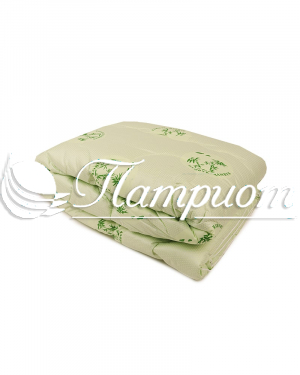 Одеяло бамбуковое волокно 1.5 спальное в тике (Зима)